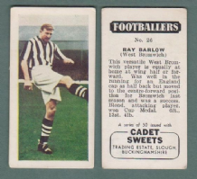 West Bromwich Albion Ray Barlow England 26